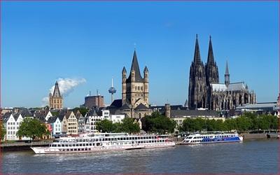 Du lịch đức thăm quan Cologne