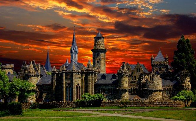 Lâu đài Kassel nằm phía Bắc, nước Đức
