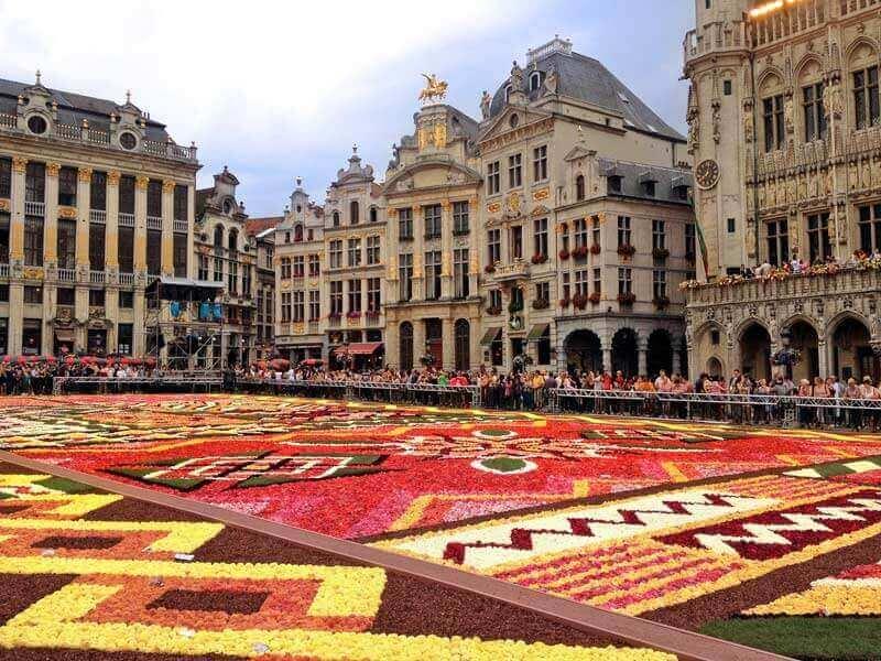 Làm visa Bỉ